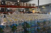 Water stored in Bahamas Pardise Cruise line's warehouse