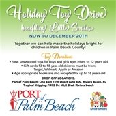 Holiday Toy Drive details