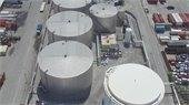 Aerial view of South Florida Materials Terminal