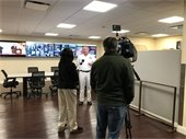 Senior Director of Seaport Operations and Security Ken Hern speaking with WPBF about the security upgrades.