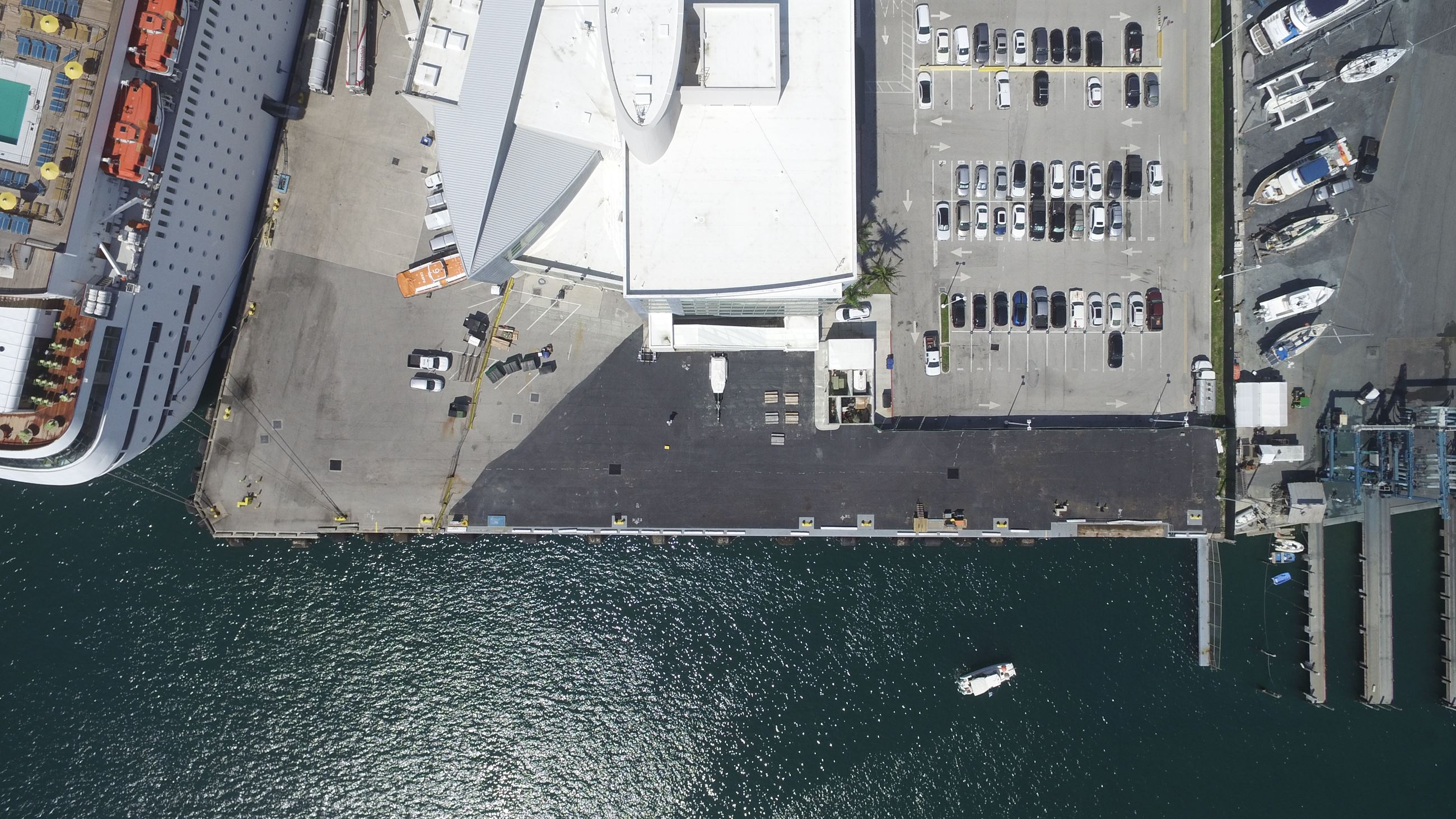 Berth 1 before construction