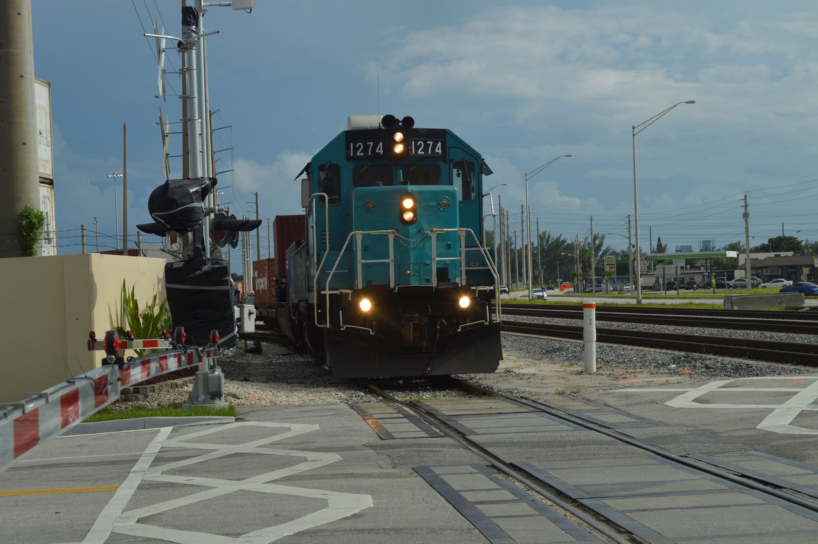 Port of Palm Beach locomotive